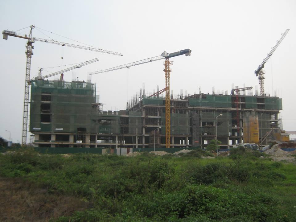 Gemek Tower hình ảnh công trường tầng 8
