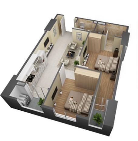 Thiết kế căn hộ tối ưu