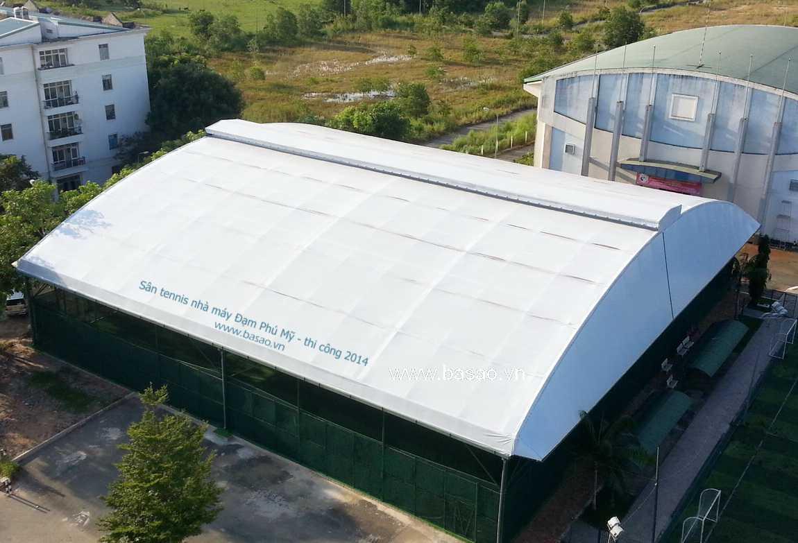 Sân tennis nhà máy Đạm Phú Mỹ - 2014