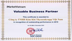 thyssenkrupp Materials Vietnam được ghi nhận nhà cung cấp tiêu biểu từ đối tác