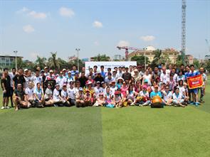 Giải bóng đá Vô địch các công ty thuộc thyssenkrupp tại Việt Nam năm 2015