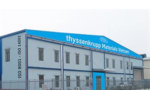 thyssenkrupp Materials Vietnam chuyển địa điểm văn phòng Khu vực Phía Bắc