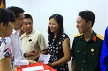 Hội Cựu chiến binh Cơ quan Trung ương Đoàn kỷ niệm 68 năm ngày TBLS và  ủng hộ Quỹ đền ơn đáp nghĩa