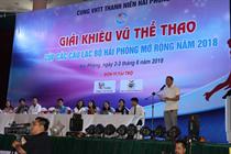 GIẢI KHIÊU VŨ THỂ THAO CUP CÁC CLB HẢI PHÒNG MỞ RỘNG NĂM 2018