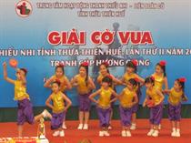 Trung tâm TTN Thừa Thiên Huế: Giải cờ vua Thiếu nhi tỉnh Thừa Thiên-Huế lần II năm 2014