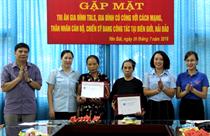 Trung tâm HĐ TTN tỉnh Yên Bái: Gặp mặt tri ân các gia đình thương binh, liệt sỹ, người có công với cách mạng