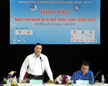 Đồng loạt tổ chức Ngày hội nhân ái vì sức khỏe cộng đồng 2013 trong cả nước