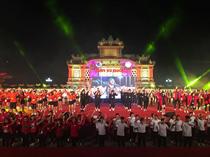 Liên hoan dân vũ quốc tế lần thứ III - năm 2018 - Chào mừng Festival Huế 2018 thành công tốt đẹp