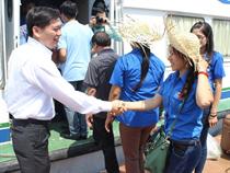 """Hành trình """"Tuổi trẻ Thành phố Thái Nguyên đến với Huyện đảo Bạch Long Vĩ"""""""