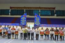 Giải cầu lông Hội cựu chiến binh, Đoàn thanh niên tỉnh Thái Bình tranh cúp Mykolor lần thứ I - 2015