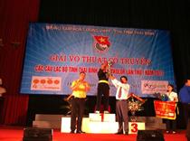 Giải võ thuật cổ truyền các CLB tỉnh Thái Bình cúp Mykolor lần thứ I - 2013