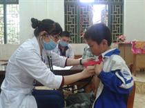 Trung tâm HĐ Thanh thiếu niên tỉnh Hòa Bình: Tình nguyện vì cuộc sống cộng đồng.