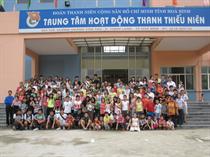 Trung tâm Hoạt động Thanh thiếu niên tỉnh Hòa Bình: 5 năm - Một chặng đường phát triển