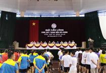 Hải Phòng: Sôi nổi Giải cầu lông Cung VHTT Thanh niên lần thứ XI năm 2015