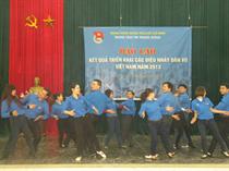 Báo cáo Kết quả triển khai các điệu nhảy Dân vũ Việt Nam năm 2013