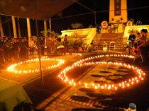 Trung tâm TTN Trung ương và cộng đồng D-Free: Lễ thắp nến tri ân các Anh hùng liệt sĩ