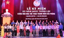 Cung Văn hóa Thể thao Thanh niên Hải Phòng: Kỷ niệm 40 năm Ngày thành lập