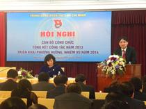 Cơ quan Trung ương Đoàn: Hội nghị Cán bộ công chức và Tổng kết công tác năm 2013