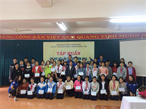 Lớp tập huấn Chỉ huy Đội, lần thứ III - năm 2018