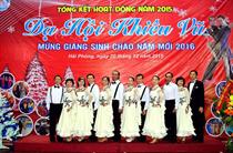 Tưng bừng Dạ hội Khiêu vũ Mừng giáng sinh - Chào năm mới 2016
