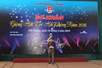 Khai mạc vòng Sơ khảo Cuộc thi Giọng hát trẻ Hải Phòng năm 2016