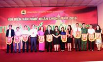 Khai mạc Hội diễn văn nghệ quần chúng cơ quan Trung ương Đoàn năm 2016