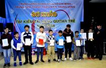 42 thí sinh tham gia vòng Sơ khảo tìm kiếm tài năng guitar trẻ 2018
