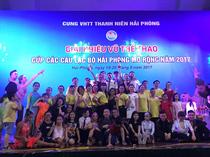 Cung VHTT Thanh niên Khai mạc giải khiêu vũ thể thao Cúp các CLB Hải Phòng mở rộng năm 2017