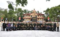 Trao tặng Kỷ niệm chương của Trung ương Hội CCB Việt Nam cho 7 CCB cơ quan Trung ương Đoàn