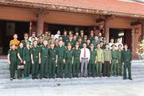 """50 Hội viên CCB cơ quan Trung ương Đoàn """"Hành trình thăm chiến trường xưa"""" 2015"""