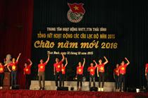 Trung tâm VHTT TTN tỉnh Thái Bình: Tổng kết hoạt động các CLB năm 2015 và chào năm mới 2016