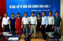 """Trung tâm VHTT- TTN tỉnh Thái Bình: Bế mạc lớp """"Kỹ năng dẫn chương trình"""" khóa I"""