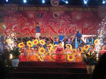 Trung tâm TTN Thừa Thiên Huế - Tổ chức dạ hội Chào năm mới 2014