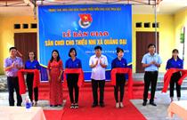 Khánh thành  sân chơi thiếu nhi tại xã Quảng Đại, Tp. Sầm Sơn