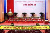 Khai mạc phiên trọng thể Đại hội Đoàn toàn quốc lần thứ XI, nhiệm kỳ 2017 - 2022