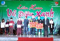 """Trung tâm HĐ TTN tỉnh Hòa Bình: Sôi động Liên hoan """" Vũ điệu xanh"""" năm 2014"""