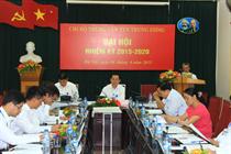 Đại hội Chi bộ cơ sở nhiệm kỳ 2015-2020 Trung tâm Thanh thiếu niên Trung ương