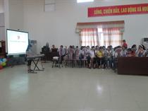 Trung tâm HĐ TTN tỉnh Hòa Bình:Tưng bừng các hoạt động hưởng ứng tháng Hành động vì trẻ em.