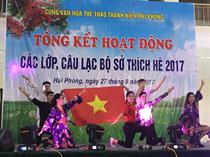 Cung VHTT Thanh niên Hải Phòng: Tổng kết các hoạt động Hè 2017