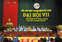 Khai mạc Đại hội đại biểu toàn quốc Hội LHTN Việt Nam lần thứ VII, nhiệm kỳ 2014- 2019