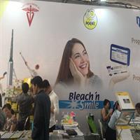 Gian hàng MANI tại buổi Hội nghị Khoa học kỹ thuật răng hàm mặt tổ chức tại Đại học Y dược Hồ Chí Minh ngày 1-2/4/2019