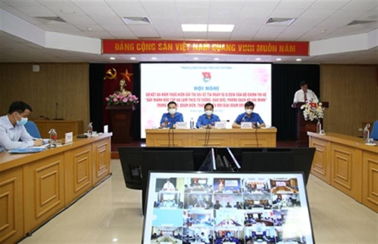 """Trung ương Đoàn sơ kết 5 năm thực hiện Chỉ thị 05-CT/TW của Bộ Chính trị về """"Đẩy mạnh học tập và làm theo tư tưởng, đạo đức, phong cách Hồ Chí Minh"""""""
