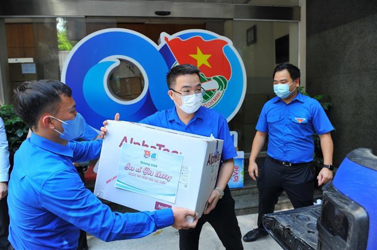 Trung ương Đoàn phát động thi đua đặc biệt tuổi trẻ Việt Nam chung sức, đồng lòng chống dịch Covid-19