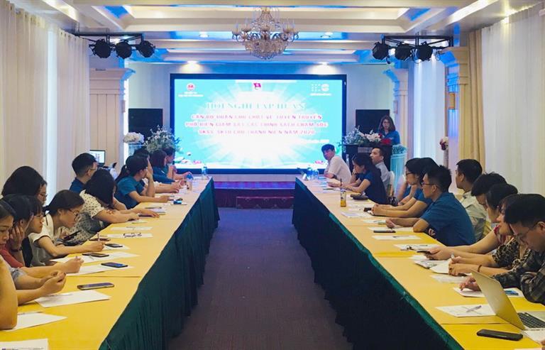 Tập huấn cho cán bộ Đoàn các chính sách về phát triển thanh niên