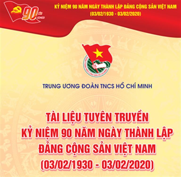 Chào mừng kỷ niệm 90 Năm Ngày Thành lập Đảng Cộng sản Việt Nam ( 03/02/1930 - 03/02/2020)