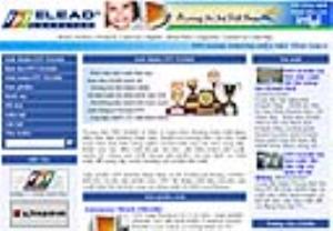 Cung cấp website cho Trung tâm máy tính FPT Elead (Công ty FDC)