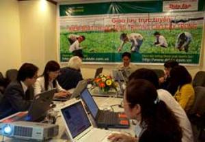 """Phối hợp thực hiện giao lưu trực tuyến """"Kiểm soát thuốc tăng trưởng cho cây trồng"""""""