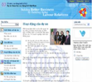 Hợp tác với dự án Quan hệ Lao động ILO Việt Nam