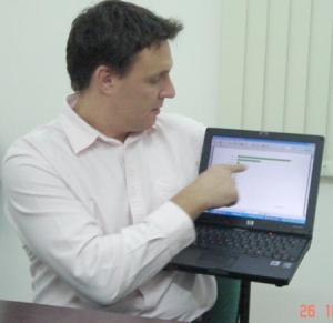 Ông Chris Morley - TGĐ AC Nielsen VN. Ảnh: Nguyễn Sa