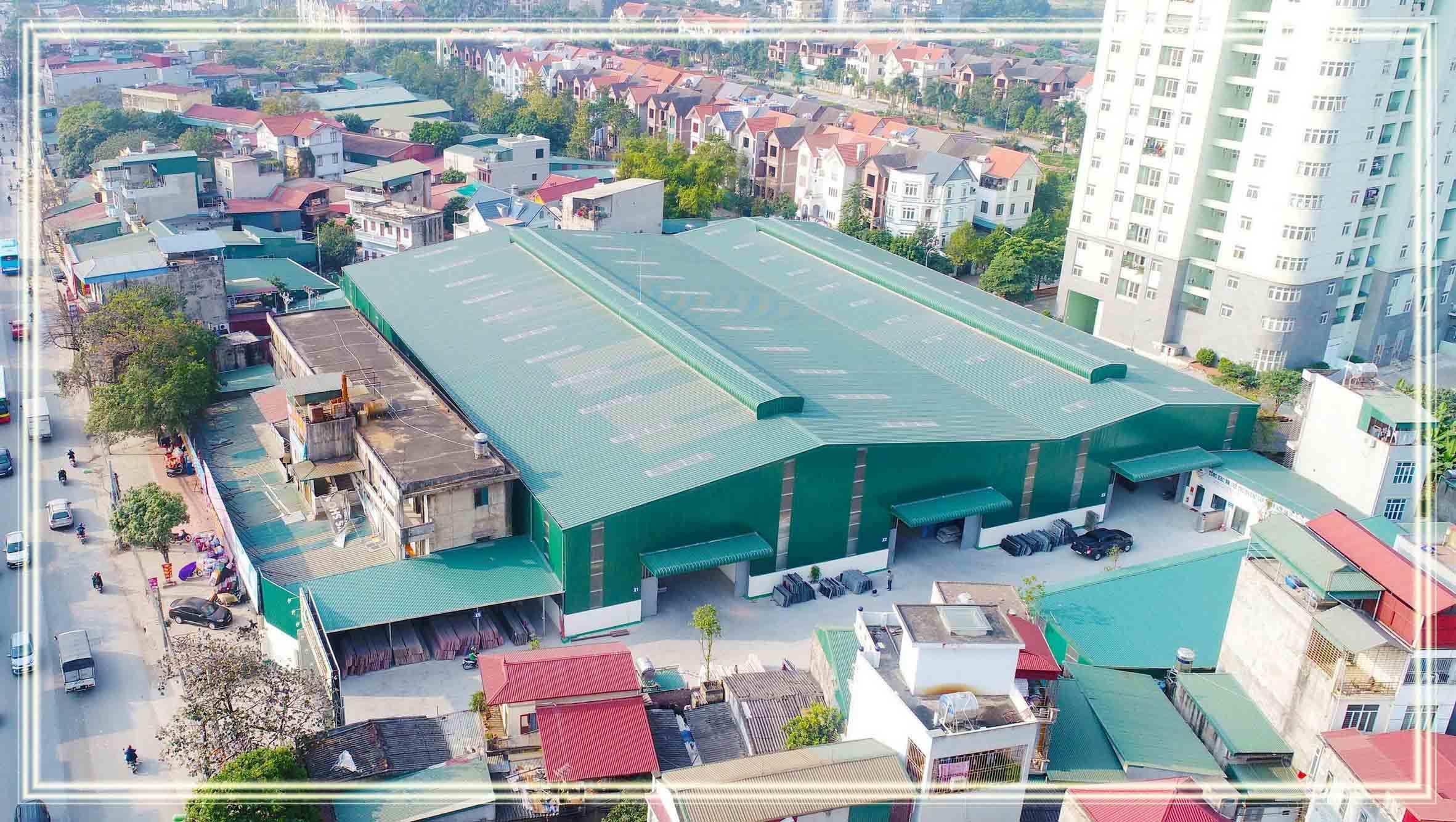 Tổng kho nhà máy